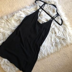 PACSUN black dress with keyhole back